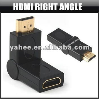 HDMI Right Angle Adapter Connector, YAC214A