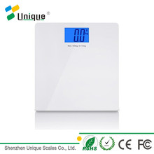 Step on waterproof 180kg body enabled weight smart weigh Bluetooth digital scale with lcd display