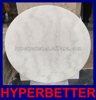 White marble used round banquet tables for sale