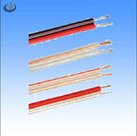 OEM flat transparent flexible Audio line wire