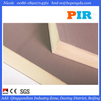 2950mm*1200mm*20mm Air Ducts Panel High R Value Beipeng PIR/PU Foam Board