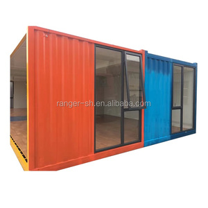 4 20ft Containers Together Newest Prefab Container Home, Luxury Prefab Houses ,Container Villa