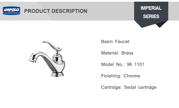 High Quality Brushed Nickel Bathroom Basin faucet