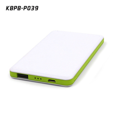 2017 new mobile portable phone power bank charger 4000mah CE FCC ROHS