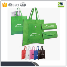 Recycle Non Woven Foldable Shopping Bags Easy To Packet Grocery Bags