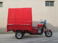 Big Power For Passenger 3 Wheel Cargo Tricycle With A Cabin On Sale