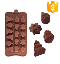 Latest Bakeware Durable Non-stick 100% Food Grade Silicone Chocolate Mold