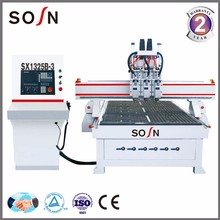 SX1325A-2 woodworking cnc router , wood cnc machine with good price , router cnc atc engraving machine with vacuum