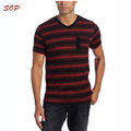 Striped pattern summer latest t shirt designs for men
