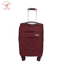 euro travel nylon ladies 3pc fabric luggage trolley bags set