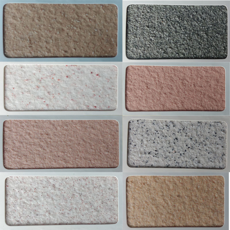 20 years factory cheap price free sample natural sand granite stone paint