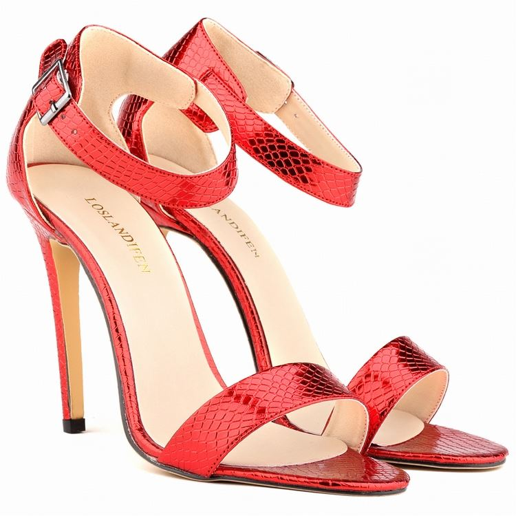 Wholesale ladies sexy high heel shoes women evening dress sandals