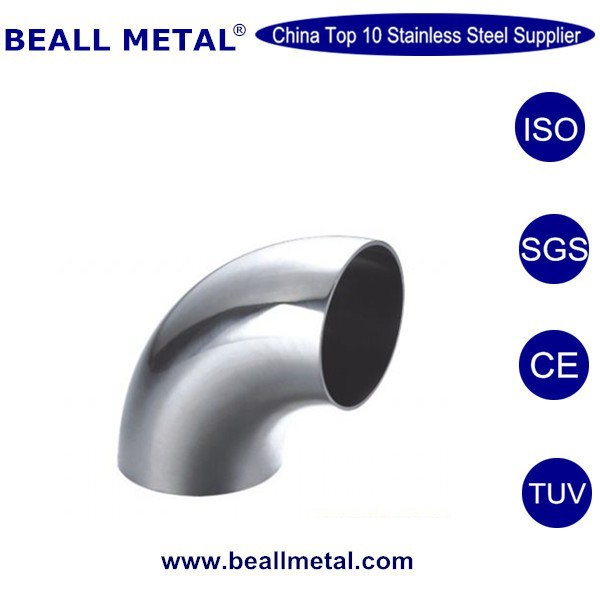 L2S 90 Degree Elbow, Tangent Weld Ends