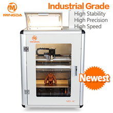 MINGDA 3d printer price at promotion , MD-6C industrial grade large 3 D print prototyping