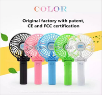 new products 2016 Air cooling 18650 battery operated Portable mini Rechargeable fan for kids