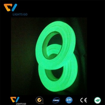 luminescent self-adhesive glow in the dark film tape ,glowing tape , luminous tape