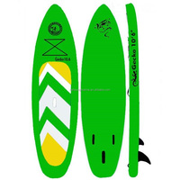 2016 apple green inflatable stand up paddle board