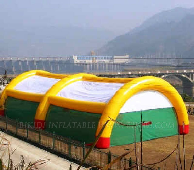 Paintball inflatable tent, inflatable camping tent used K5016