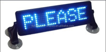 led car window message sign