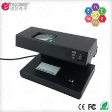 Commercial portable multi function dollars note checking counterfeit bill currency cash detector and fake money detector