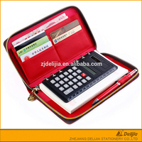Lock cheap notebook with calculator pen