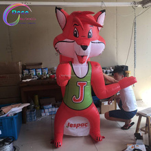 advertising inflatable cartoon fox