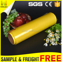Manufacturer Disposable Plastic Packing Materials White PVC Cling Film