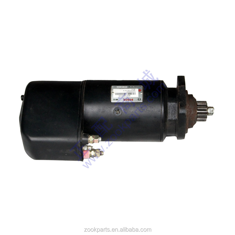 Construction machinery parts Weicai engine motor starter 612600090287