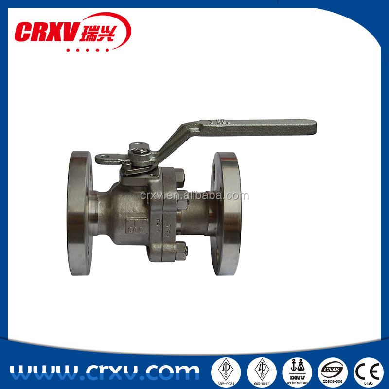 Forged stainless steel ball float valve flanged ball valve flange ball valve with CE certificate