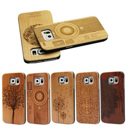 Hot wood phone case/case for wood galaxy S6/for wood samsung S6 case