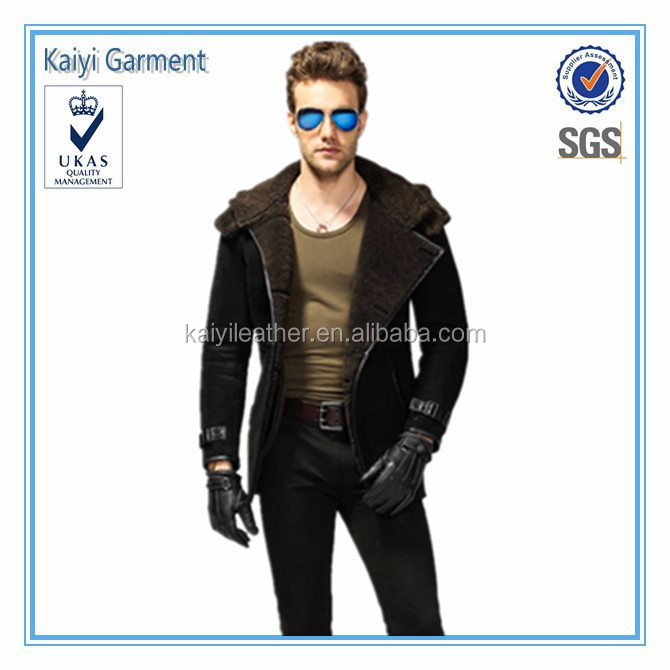 chinese clothing manufacturers windproof coat man leather biker jacket