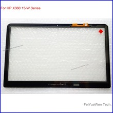 Touchscreen no bezel For HP Envy X360 15-w102ng Digitizer Glass