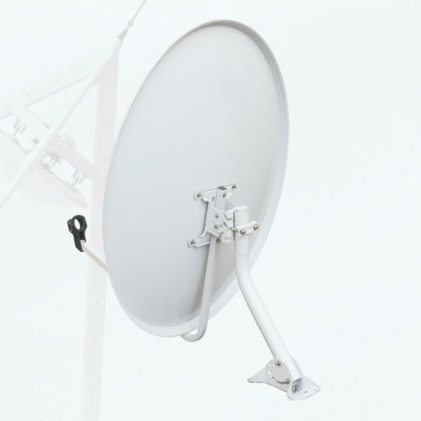 Ku band 60cm satellite dish antenna/big bracket cheap price