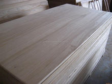 A grade and cheap wooden board wooden paulownia board wooden pine board