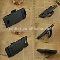 multifunctional plastic stand holder belt slip case for Samsung Galaxy s2 i9100