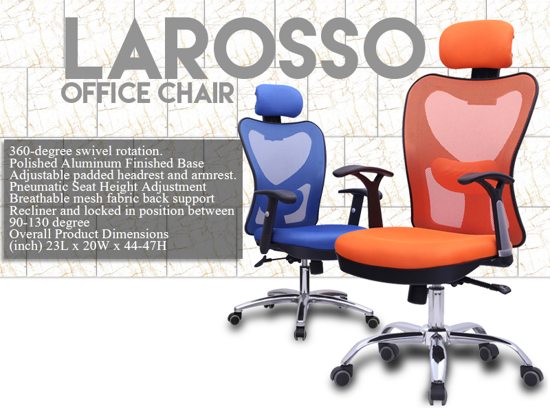 BIFMA comfortable ergonomic white mesh office chair with lumbar support