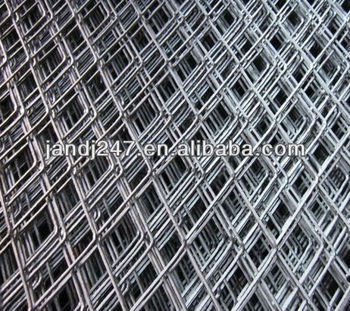 Galvanized Thick Expanded Iron Wire Mesh