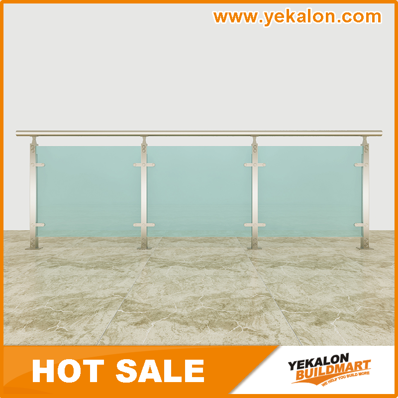 Yekalon Indoor and Outdoor Aluminum Porch Railings and Deck Railings