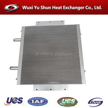 high performance aluminum customized transformer oil heat exchanger manufacturer