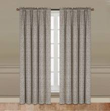 2016 New American Designs Rod Pocket Window Curtains With Simple Geometric Figure Pattern Design