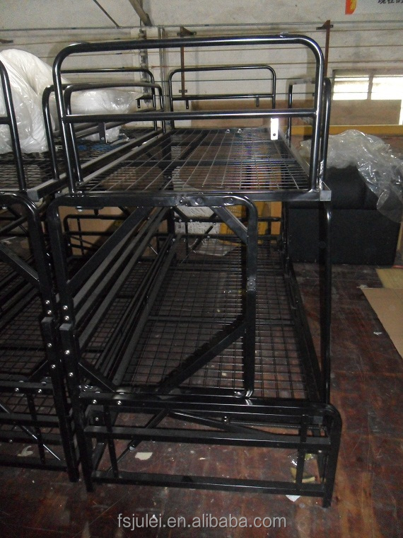 Home Furniture Folding Metal Bunk Bed Sofa Cum Bed