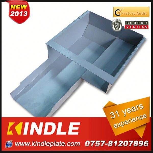 Kindle high precision laser cutting stainless steel metal electric outlet box with 31 years experience