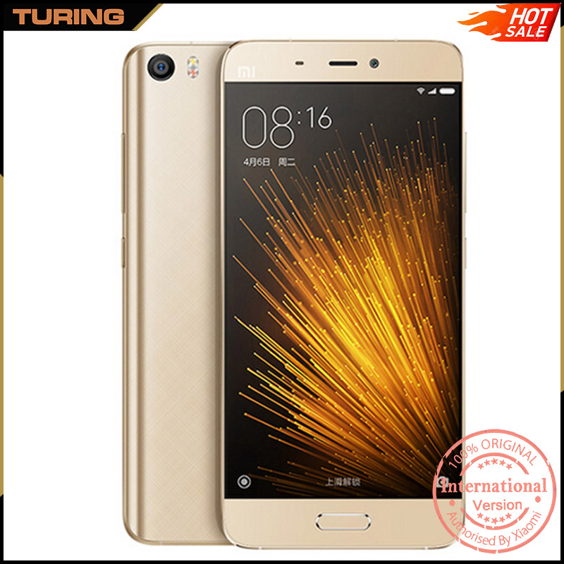Xiaomi Mi5 Mi 5 Xaomi First Quality 5.3 Inch Screen Smartphones Mobile Phones 3GB RAM 32GB ROM Android 6.0 5.15 inch 13MP