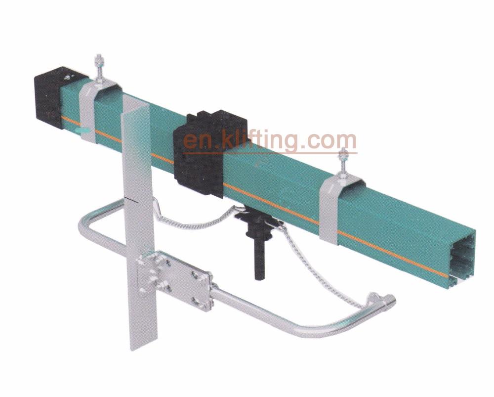 Electric Power Rail : Power supply for cranes conductor rail system busbar