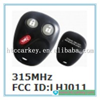auto key remote control for Chevrolet 2+1 button 315Mhz cruze key fob