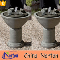 natural exquisite birds drink stone tabletop fountain NTMF-S354X