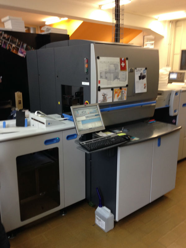 HP INDIGO Press 5000