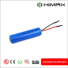 rechargeable li ion battery 18650 3.7v 2200mah for medical device