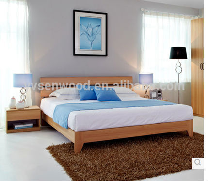 China factory top quality cheap modern design wood bedroom for Affordable quality bedroom furniture