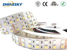 Top Quality rgbw 120PCS 5050 white/black pcb led digital strip for decoration light for wedding